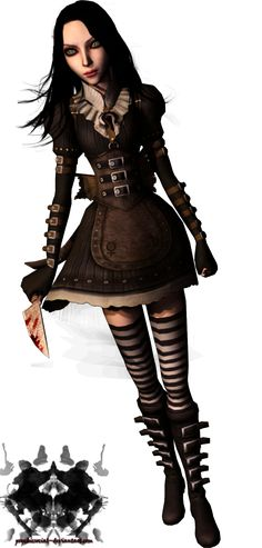 Alice Madness Returns |• steam punk dress is my favourite :3