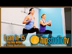 Lean in Total Body Tabata Workout with Prenatal Modifications from HIP STUDIO is an effective, high-intensity Tabata workout that is designed to burn fat. Pregnancy Workout Videos, Baby Workout, Hip Workout, Killer Workouts, Tabata Workouts, Hiit, Prenatal Pilates, Prenatal Workout, Pregnancy Nutrition