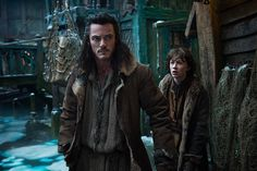Luke Evans talks Bard the Bowman and Bard the family man in 'Hobbit: Desolation of Smaug'
