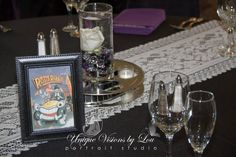 Movie Themed Table Assignments! Photo Credit: Unique Visions by Lou