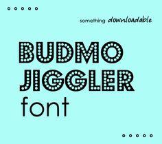 Polka dot font free download!
