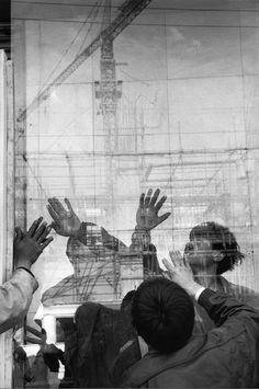 Marc Riboud, Shanghai, 1995.