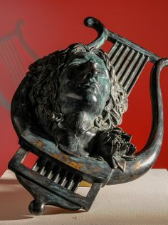 The Greek Myth of the Lyre of Orpheus, in Bronze. www.decorarconarte.com