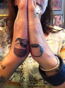 Coffee Couples Tattoo