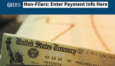 IRS ✍ Non-Filers: Enter Payment Info Here