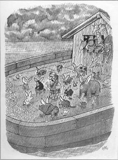 Quino Satirical Illustrations, Pink Animals, Cartoon Memes, Cartoons, Images And Words, Picture Story, Humor Grafico, Just For Laughs, Comic Strips