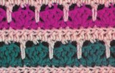 many crochet stitches