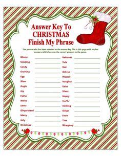 Christmas Group Games, Xmas Games, Holiday Party Games, Christmas Activities, Christmas Printables, Holiday Parties, Holiday Fun, Office Christmas Party Games, Christmas Trivia