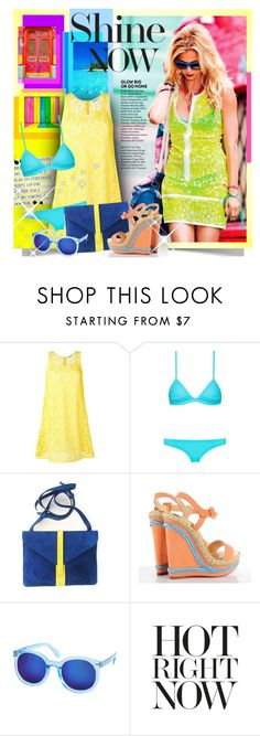 """""""Shine"""" by petri5 ❤ liked on Polyvore featuring P.A.R.O.S.H., Christian Louboutin and Etro"""