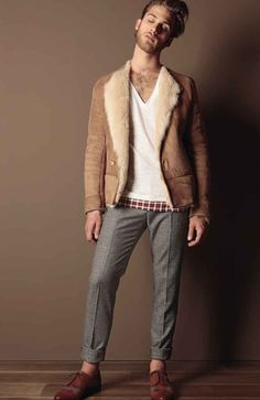 Trussardi 1911 Fall 2010 Gimme that jacket!