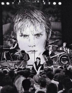 80's U2 concert