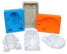 Star Wars Deluxe Silicone Mold :: ThinkGeek