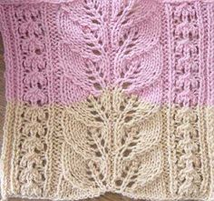 Square #7 by Kay MacLaury Knit Pattern
