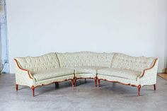 """Photo from Ardor collection by Starling and Sage """"French Provincial Sectional"""" Living Room Redo, Starling, French Decor, French Provincial, Sage, Sofas, Couch, Antiques, Chairs"""