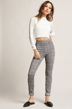 Product Name:Motel Glen Plaid Pants, Category:CLEARANCE_ZERO, Price:58