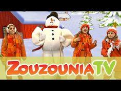 Ζουζούνια - Φρόστι ο Χιονάνθρωπος (Official) - YouTube