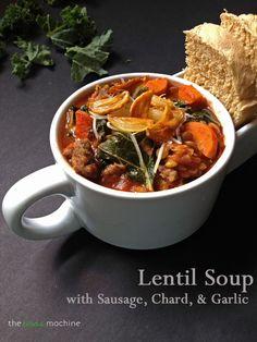 1000+ images about Soup on Pinterest   Soups, Lentil soup ...