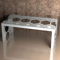 Chantilly Lace Dining table - available as 4 or 6 seats