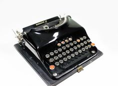 have a typewriter in your foyer to leave messages for another or yourself, grocery lists or to do lists...or just an i love you.