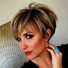 100 Mind-Blowing Short Hairstyles for Fine Hair 100 Mind-Blowing Short Hairstyles for Fine Hair,Frisuren und Haarfarben Layered Pixie with Tapered Back Related posts:farbiger themengeschenkkorb Short Hairstyles For Thick Hair, Haircuts For Fine Hair, Short Hair With Layers, Short Hair Cuts For Women, Short Hair Styles, Bob Haircuts, Medium Hairstyles, Braided Hairstyles, Pixie Hairstyles