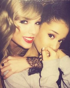 Ariana Grande Joins Taylor Swift's Bevy of BFFs: See the Photo - Us Weekly