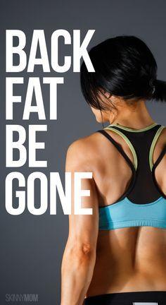 Hate back fat? Work it away!