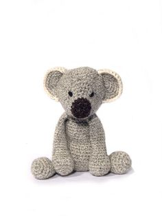 Edwards Menagerie Crochet Animal Patterns: Amigurumi toy animal designs.