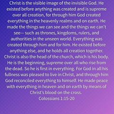 Image result for colossians 1 15-20