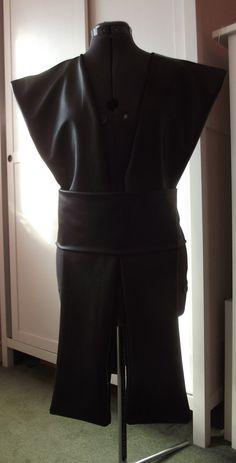 Star Wars Jedi Sith tabard shoulder armor ninja warrior knight