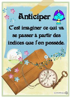 Stratégie de lecture: Anticiper My English Teacher, French Teacher, Teaching French, Reading Lessons, Reading Strategies, Reading Activities, Read In French, Learn French, Education And Literacy