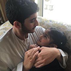 Maktoum bin Marwan y Latifa bint Marwan bin Mohammed Al Maktoum, 11/03/2016. Vía: maitha_m_rashid