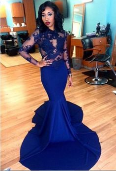 2016 Prom Gown,Long Prom Dress,Backless Prom Dress,Evening Dress
