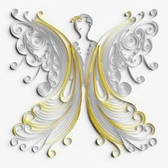15 Best Photos of Paper Quilling 3D Angel - 3D Paper Quilling ...