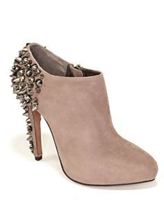 "Sam Edelman ""Renzo"" Studded Booties Shoes - All Shoes - Bloomingdale's High Heels, Shoes Heels, Pumps, Your Shoes, Designer Shoes, Me Too Shoes, Fashion Shoes, Women's Fashion, Peep Toe"