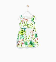 FLORAL PRINT DRESS-DRESSES AND JUMPSUITS-GIRL | 4-14 years-KIDS | ZARA United States