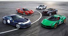 Ferrari Celebrates 70th Anniversary In Paris With Special Edition Models - autoevolution