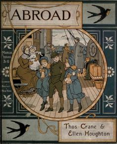 Abroad, a Victorian children's travel book.