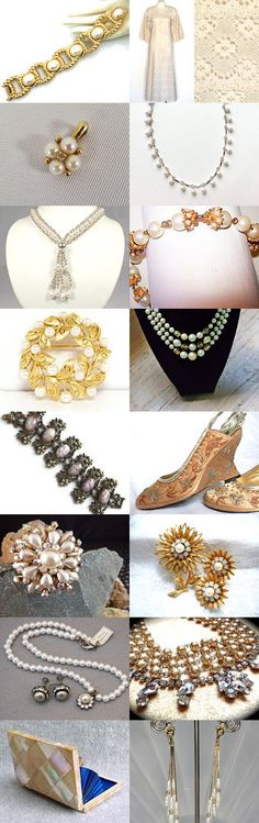 Pearls for Your Wedding by TeamLove by Jan on Etsy--Pinned with TreasuryPin.com