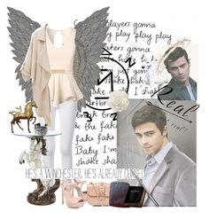 """""""Supernatural ~ Archangel Michael 🌸"""" by baebriel ❤ liked on Polyvore featuring WALL, Frame, Jane Norman, KG Kurt Geiger, Valentino and 21dgrs"""