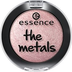 Ess The Metals Eyeshadow 06 ($2.43) ❤ liked on Polyvore featuring beauty products, makeup, eye makeup, eyeshadow, pink and filler