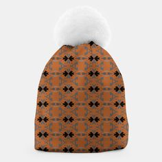 Luxury stylish beanie, brown, MOROCCO Design Shop, Unique Image, Morocco, Winter Hats, Beanie, Live, Luxury, Stylish, Brown