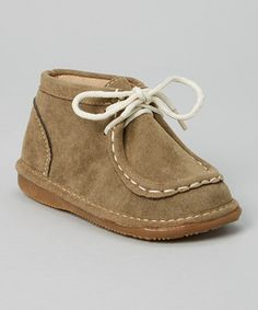This Squeak Me Shoes Brown Squeaker Moccasins by Squeak Me Shoes is perfect! #zulilyfinds