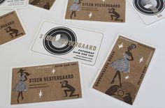 Business card design by Neryl Walker.