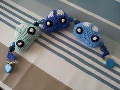 Barnevognskæde. Crochet Baby Toys, Knit Crochet, Crocheting, Diy And Crafts, Knitting, Garlands, Toys, Threading, Animals