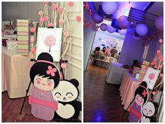 Tiffany's Japanese Inspired Party - Baptismal Celebration - Party Doll Manila