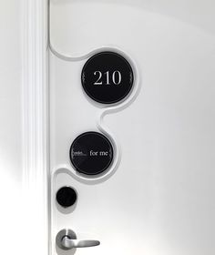 Colin Seah design - door number signage