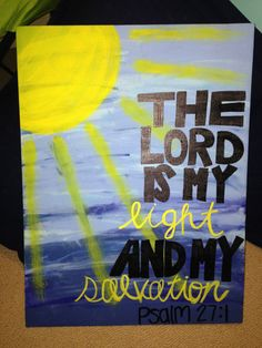 Bible Verse Quote Canvas by LNBCanvases on Etsy