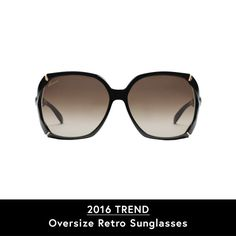 Store your mirrored lenses and opt for oversized retro frames