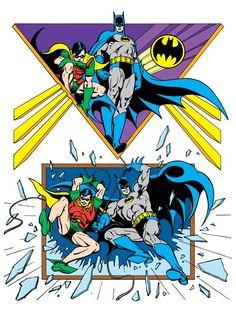 Batman & Robin by José Luis García-López from the 1982 DC Comics Style Guide