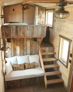 16 Tiny House Interior Design Ideas www.futuristarchi& 16 Tiny House Interior Design Ideas www.futuristarchi& The post 16 Tiny House Interior Design Ideas www.futuristarchi& appeared first on House. Tyni House, Tiny House Cabin, Tiny House Living, Tiny House Plans, Tiny House Design, Small Living, Bus Living, Tiny House Bedroom, Tiny Cabins